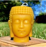Bougie tête de Bouddha