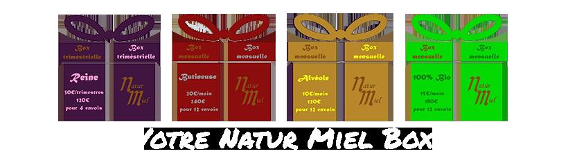 Box Natur Miel